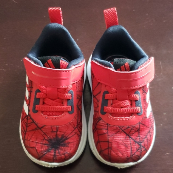 adidas Other - Toddler Adidas Spiderman Shoes